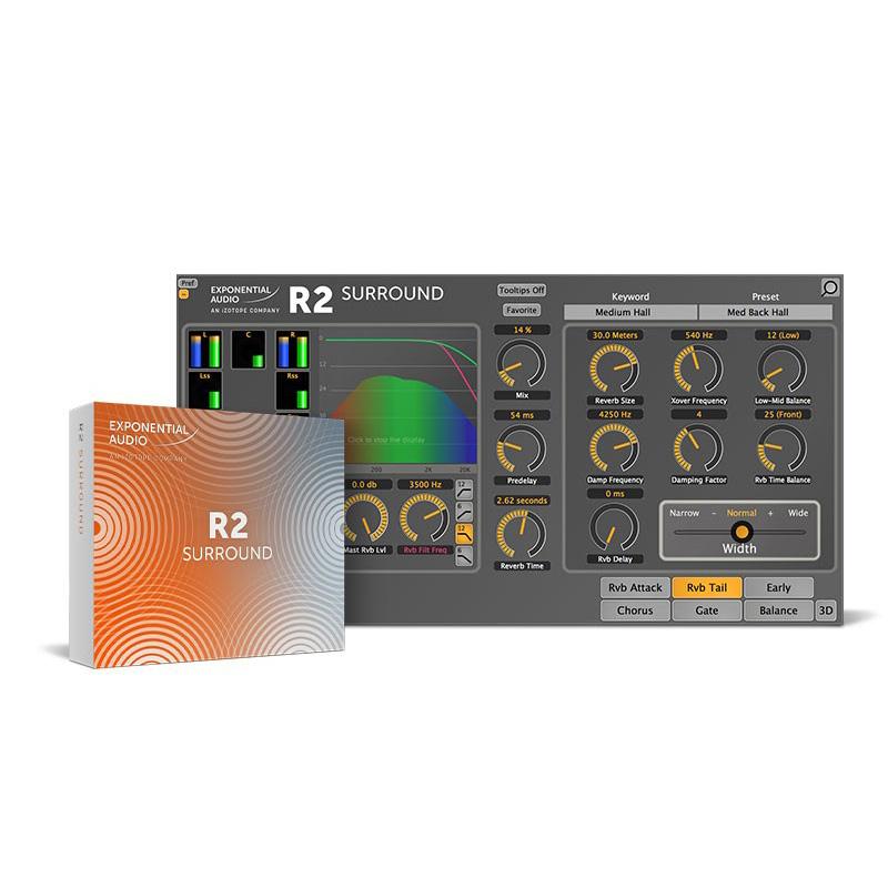 iZotope Exponential Audio: R2 Surround【オンライン納品専用】※代金引換・後払い決済はご利用頂けません