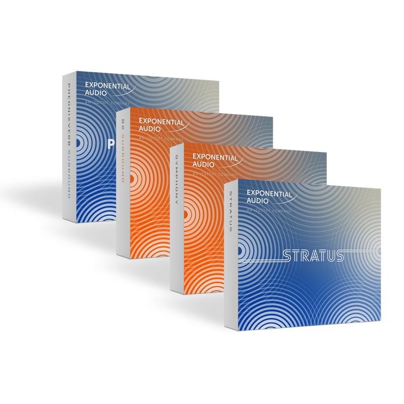 iZotope Exponential Audio: Surround Reverb Bundle【オンライン納品専用】※代金引換はご利用頂けません