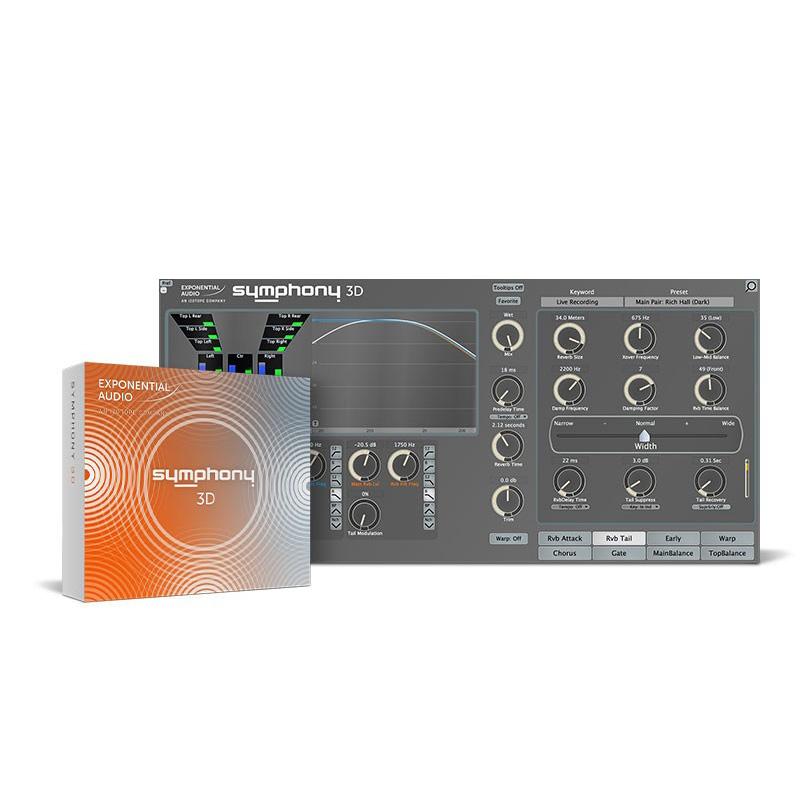 iZotope Exponential Audio: Symphony 3D【オンライン納品専用】※代金引換はご利用頂けません