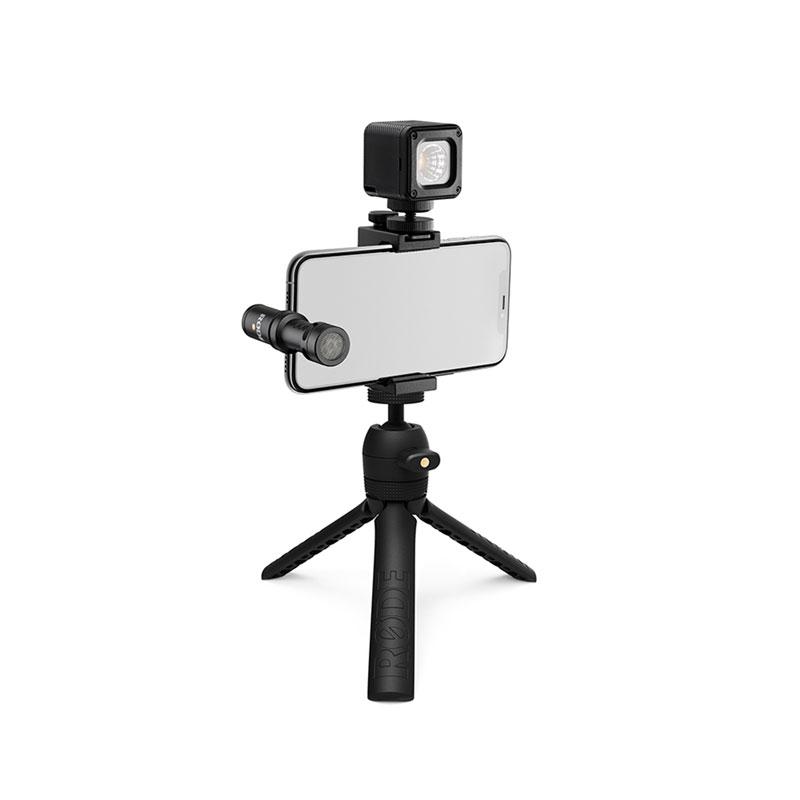 ロード Lightning端子に対応したiPhone用ブイログ撮影キット RODE VLOGVMML (Vlogger Kit iOS edition)(Lightning端子対応)(配信おすすめ)【P10】