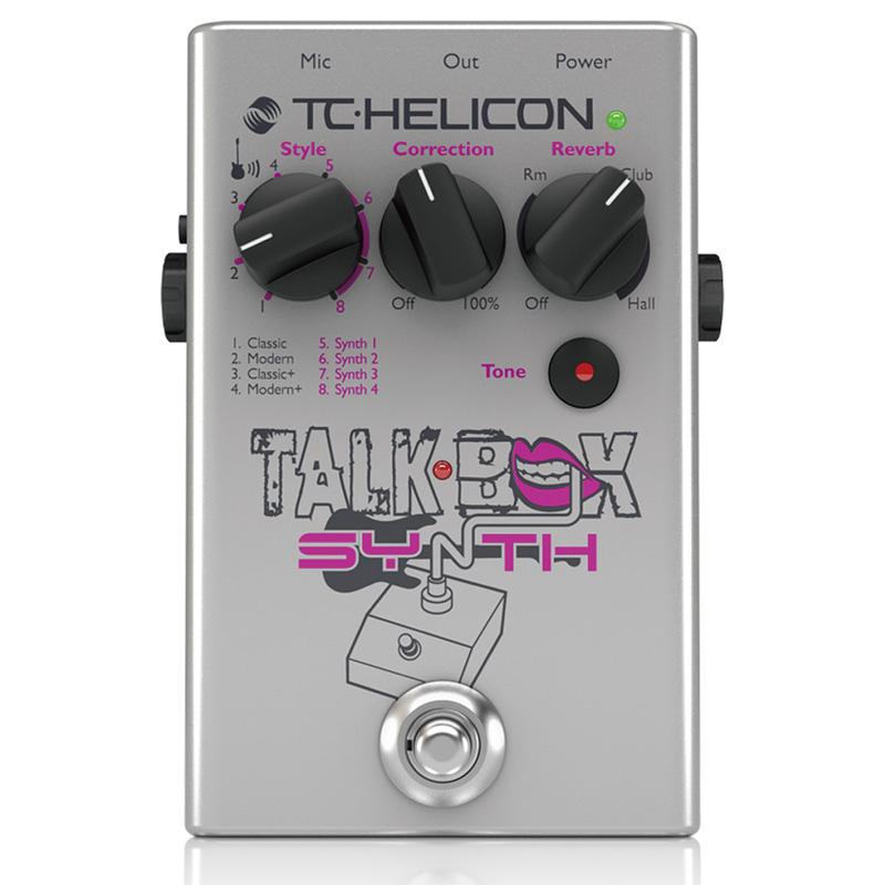 TC helicon TALKBOX SYNTH【メーカー保証3年間に!延長保証キャンペーン実施中!(※要WEB製品登録)】