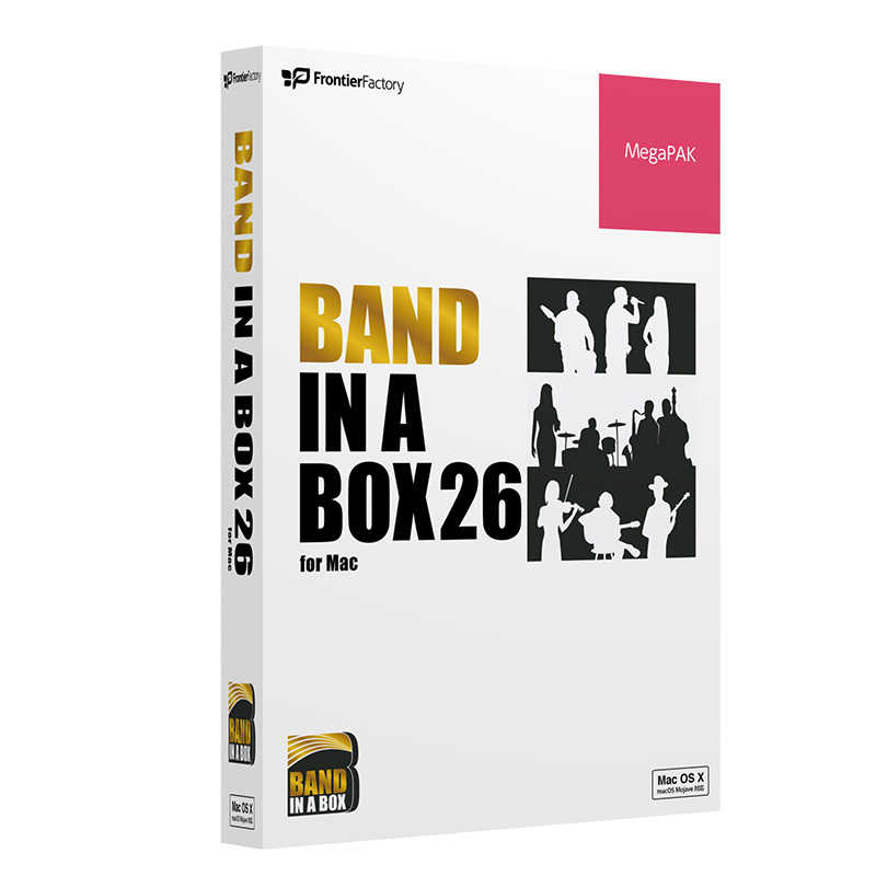 PG Music Band-in-a-Box 26 for Mac MegaPAK