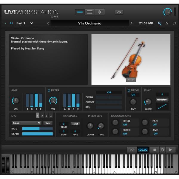 UVI IRCAM Solo Instruments (オンライン納品専用) ※代金引換はご利用頂けません。