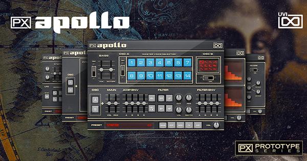 ソフトウェア音源 UVI PX 即出荷 Apollo 後払い決済はご利用頂けません ※代金引換 オンライン納品専用 セール価格