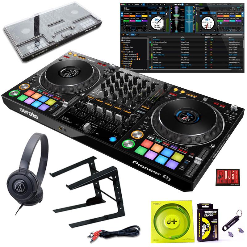 Pioneer DJ DDJ-1000SRT + LT100B PCスタンド + ATH-S100BKヘッドホン SET【今なら豪華4大特典プレゼント!】【さらに初回限定Serato DJ Suiteプレゼント!】