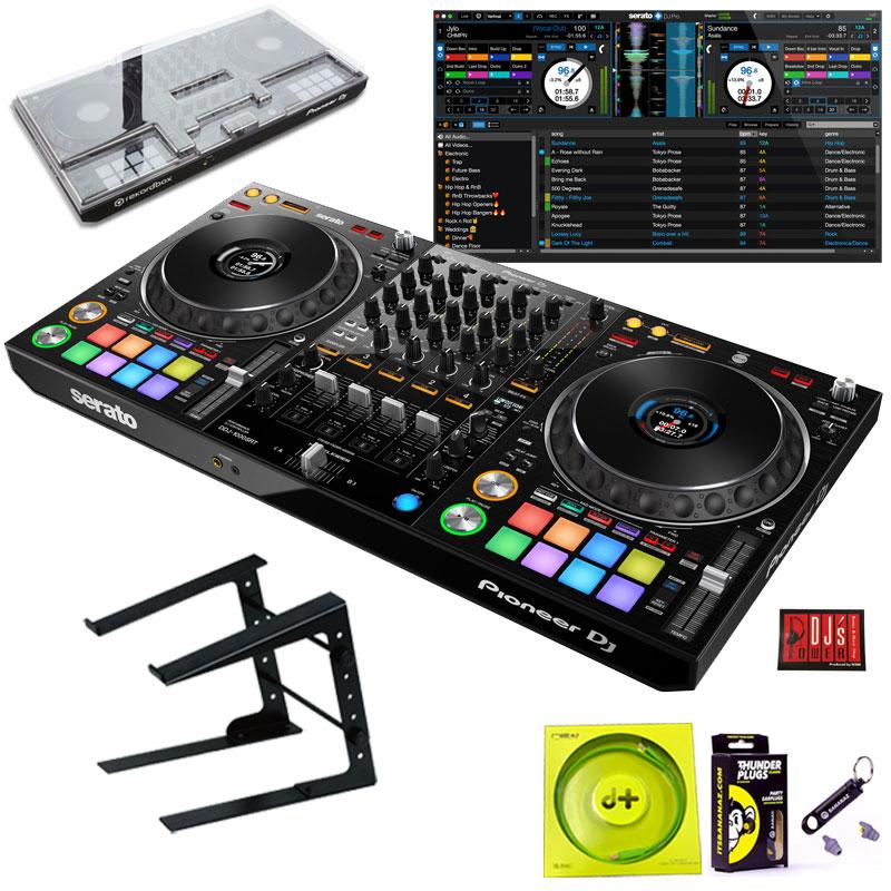 Pioneer DJ DDJ-1000SRT + LT100B PCスタンドSET【今なら豪華4大特典プレゼント!】【さらに初回限定Serato DJ Suiteプレゼント!】