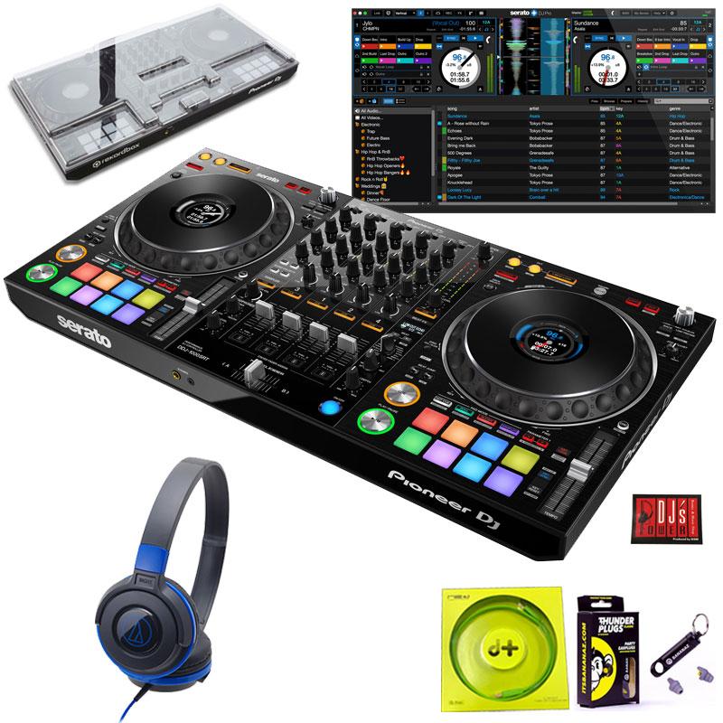 Pioneer DJ DDJ-1000SRT + ATH-S100BBLヘッドホン SET【今なら豪華4大特典プレゼント!】【さらに初回限定Serato DJ Suiteプレゼント!】