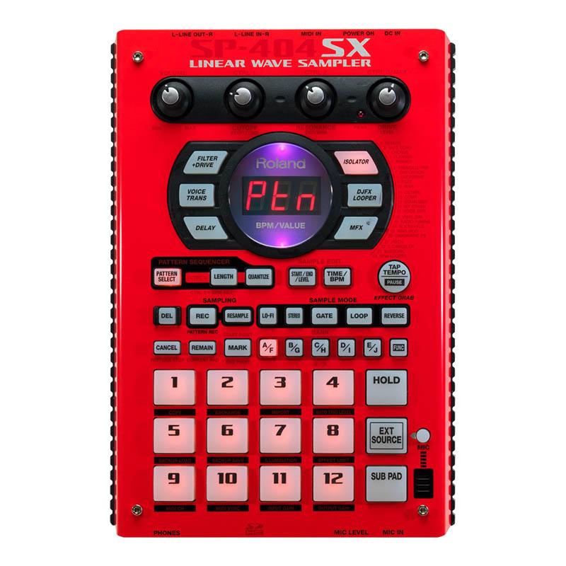 Roland SP-404SX [Sampler] (イエロー×ブラック) 【台数限定限定カラーパネル!】