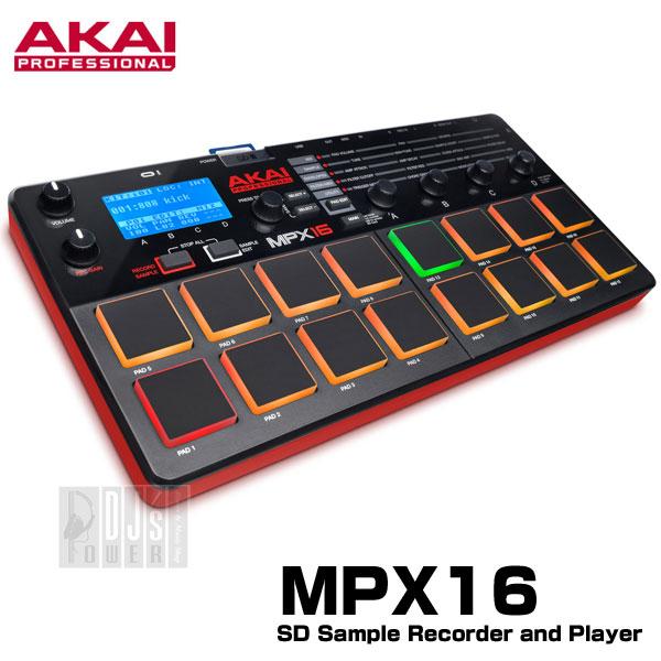 AKAI professional(アカイ) MPX16