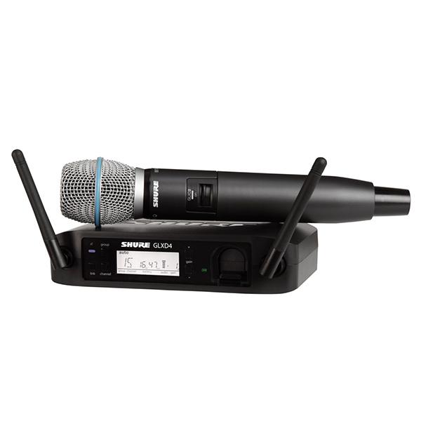 SHURE (シュア)GLXD24/BETA87A (デジタルワイヤレスマイク)【国内正規2年保証】 【P10】