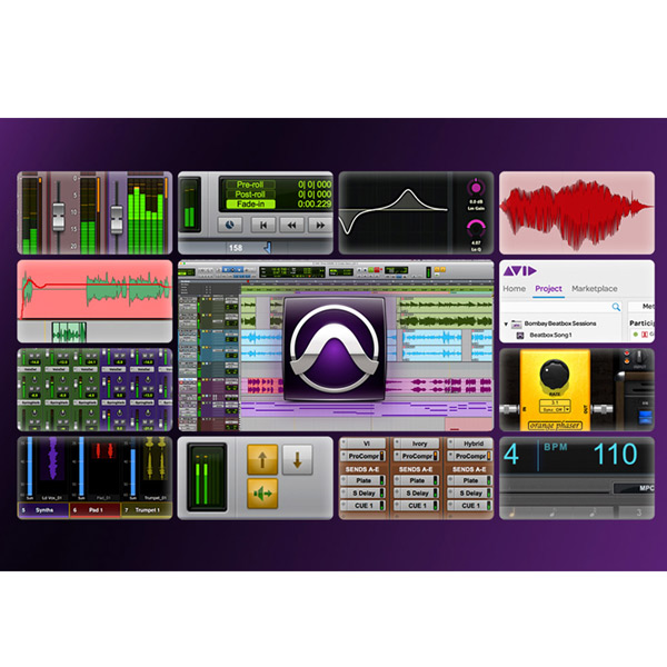 AVID Pro Tools with Annual Upgrade and Support Plan  【永続ライセンス版】(9935-71826-00) 【P10】