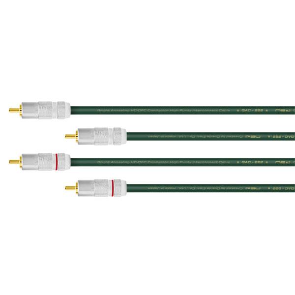Oyaide QAC-222 RCA pair (RCA-RCA) 【3.0m】
