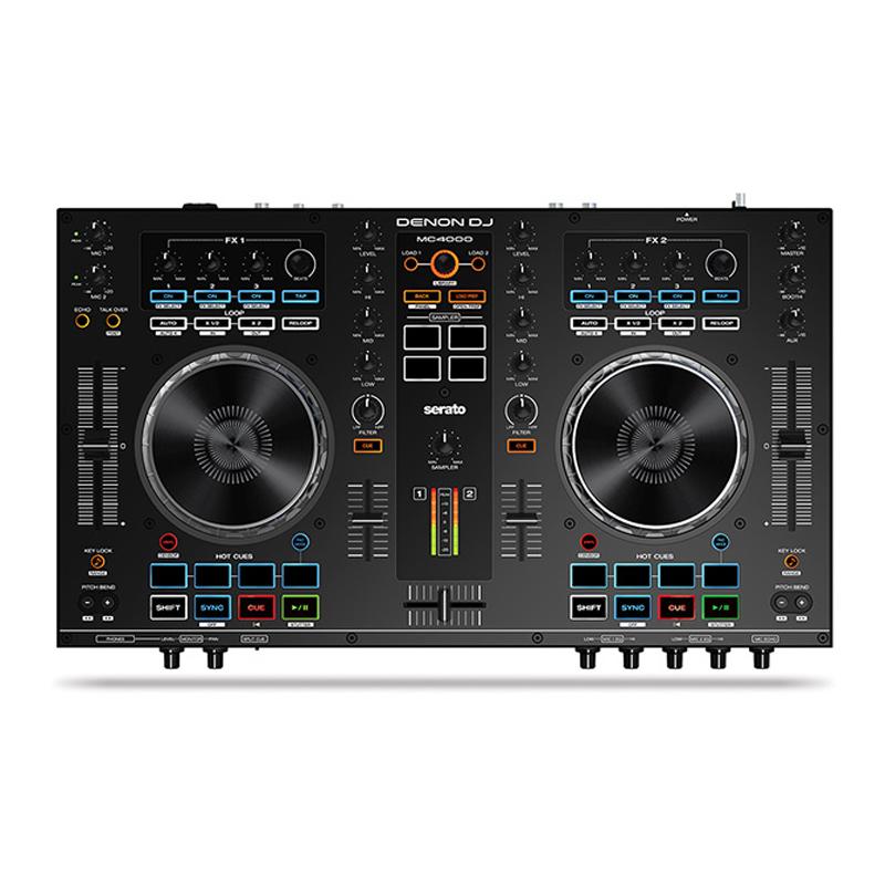 SET ライセンス Serato DJ + DENON DJ MC4000