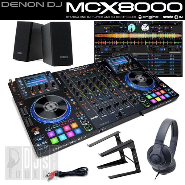 DENON DJ MCX8000 デジタルDJスタートセットA 【台数限定!今ならUSBメモリ16GB×2本と専用キャリングケース MAGMA CTRL-CASE をプレゼント!】