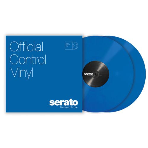 SERATOコントロールレコード Serato Control Vinyl 安心の実績 高価 爆売りセール開催中 買取 強化中 Performance Series BLUE 2枚セット