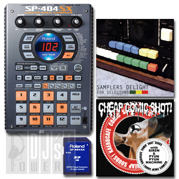 Roland SP-404SX + サンプリングCD SET 【音ネタ入りSDカード4GB付き!】 【P10】