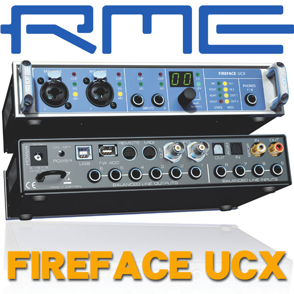 RME Fireface UCX【P5】