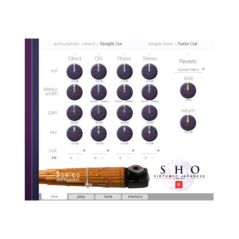Sonica Instruments SHO(オンライン納品専用) ※代金引換はご利用頂けません【Sonica Instruments 10th Anniversary 35%OFF】