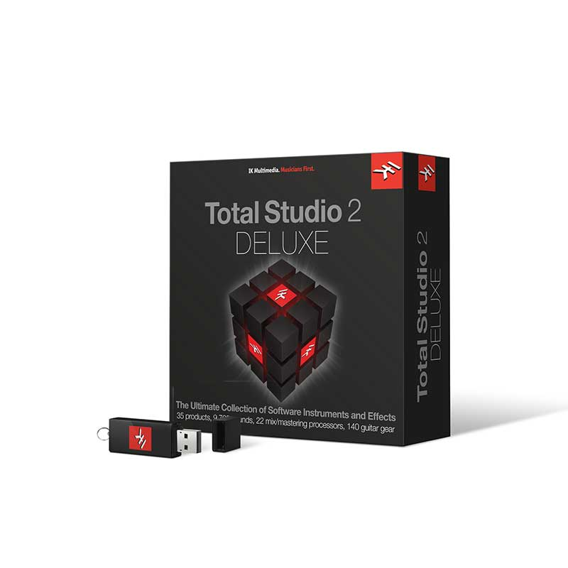 IK Multimedia Total Studio 2 DELUXE 【P5】