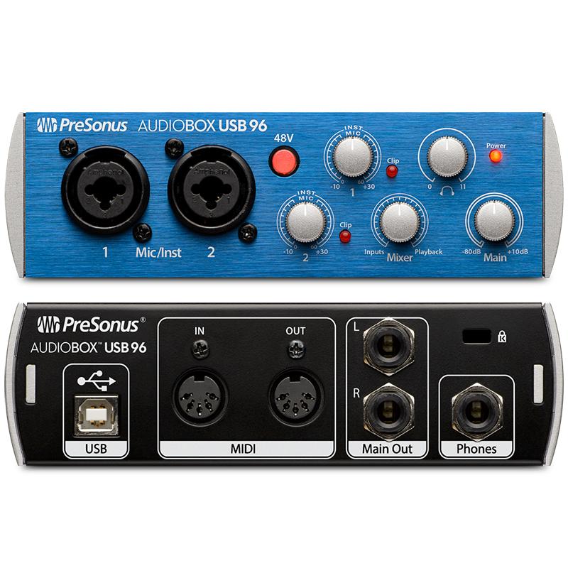 96 Audiobox PreSonus USB