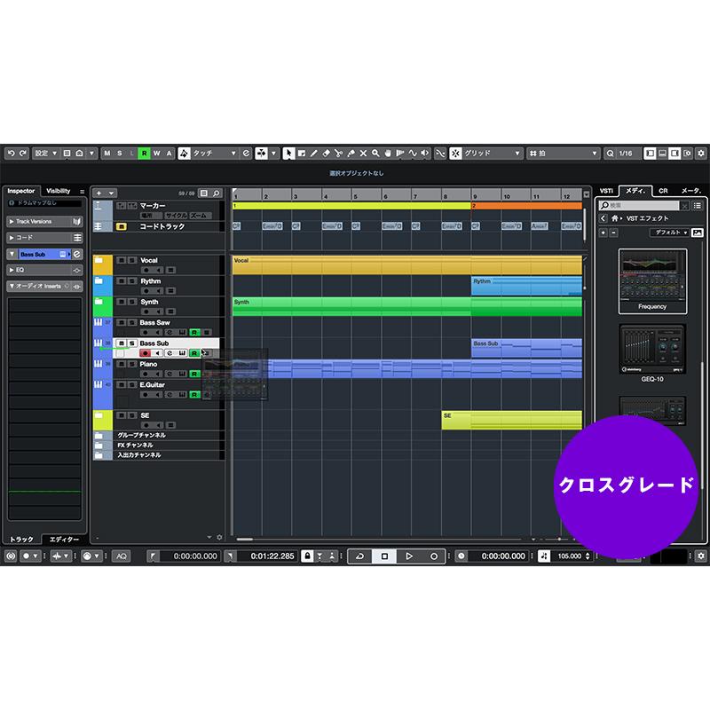 Steinberg Cubase Pro 10 (クロスグレード版)※ご購入には製品登録画面のスクリーンショット添付が必要です【P5】