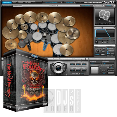 TOONTRACK SDX METAL FOUNDRY  【Superior Drummer 2.0用拡張音源】