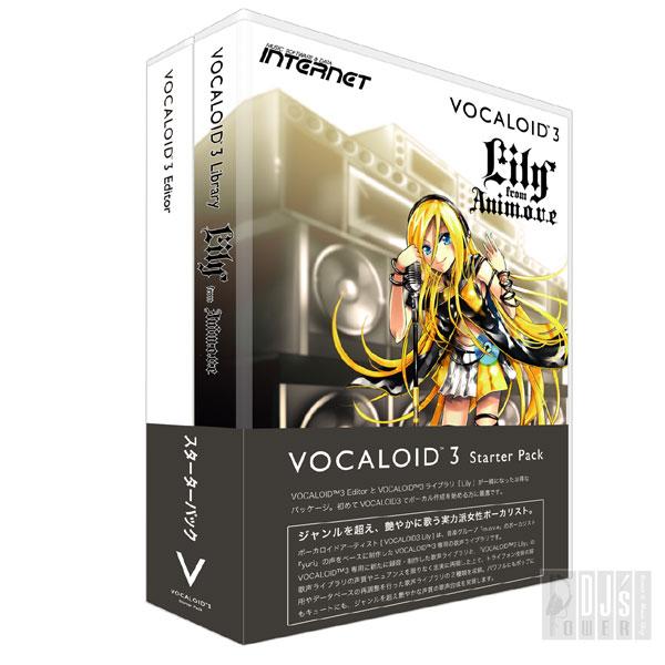 【送料無料】INTERNET Vocaloid 3 スターターパック Lily