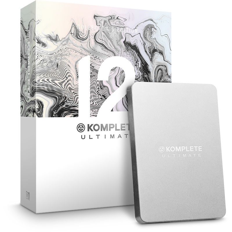 【選べる特典プレゼント中!】 Native Instruments  KOMPLETE 12 ULTIMATE Collectors Edition 【P12】