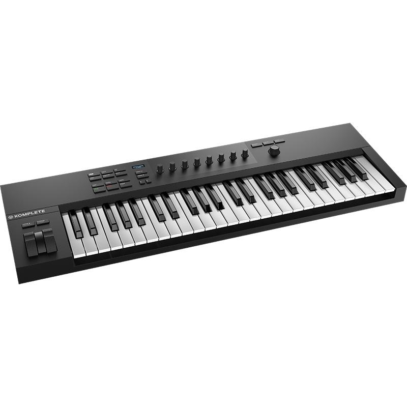 スマートでシンプルなキーボードコントローラー 購入 Native Instruments A49 KOMPLETE 人気ブランド KONTROL