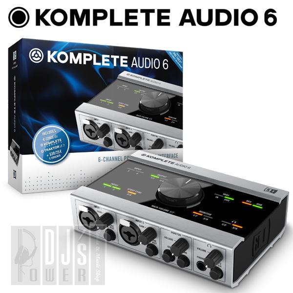 Native Instruments KOMPLETE AUDIO 6 【P10】