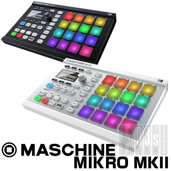 Native Instruments MASCHINE MIKRO MK2 【KOMPLETE SELECT無償ダウンロード可能】【P10】