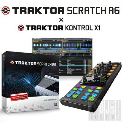 Native Instruments TRAKTOR SCRATCH A6 + KONTROL X1 MK2