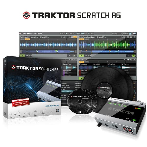 SCRATCH Native TRAKTOR 【P10】 Instruments A6