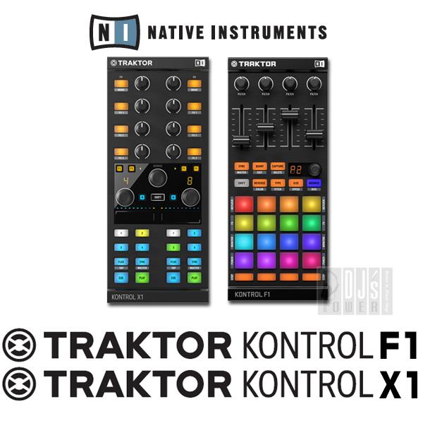 Native Instruments TRAKTOR KONTROL F1 & X1 MK2 セット