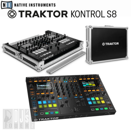 Native Instruments TRAKTOR KONTROL S8 + 専用フライトケースセット