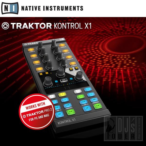 Instruments TRAKTOR KONTROL X1 Native MK2