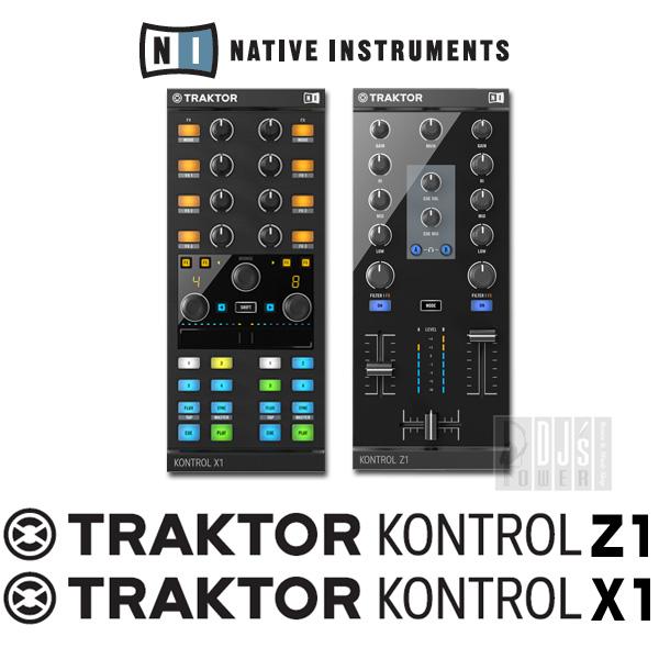 Native Instruments TRAKTOR KONTROL Z1 & X1 MK2 セット