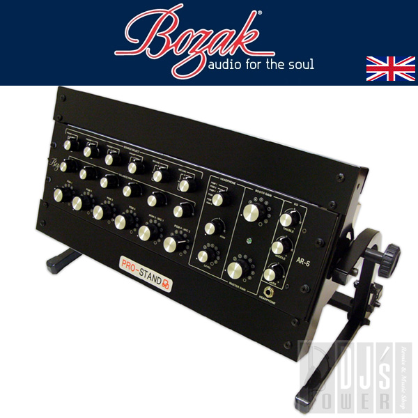 BOZAK AR-6 + DJST-AL3W 랙마운트 Set