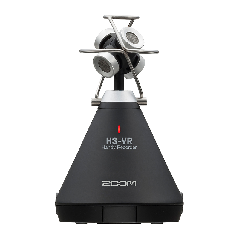 ZOOM H3-VR(360° Virtual Reality Audio Recorder)