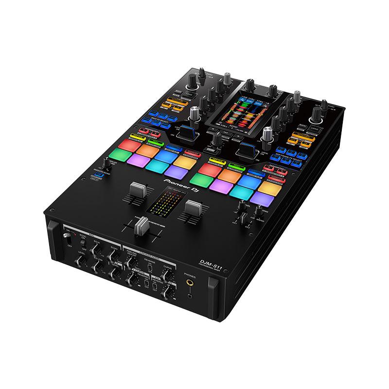 プロフェッショナル向け スクラッチスタイル 即納 2ch DJミキサー Pioneer DJ DJM-S11 日 発送対応 土 ikbp1 祝 奉呈 あす楽対応 国内台数限定モデル