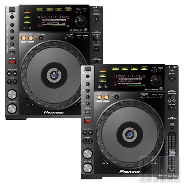 Pioneer (パイオニア)CDJ-850-K Twin Set