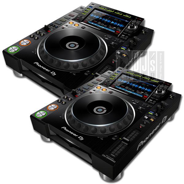 DJ Pioneer & EXFORM製 USB SET TWIN NXS2 RCAケーブルプレゼント!】 【3大特典】【専用保護カバー 高品質 ケーブル& CDJ-2000 (パイオニア)