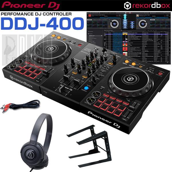 Pioneer DJ DDJ-400 DDJ-400 Pioneer DJ デジタルDJスタートセットD, neelセレクトショップ:3f86db4b --- officewill.xsrv.jp