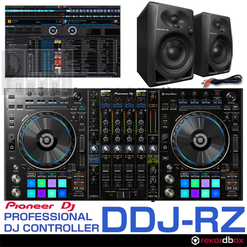 Pioneer DJ DDJ-RZ + DM-40 スピーカーSET
