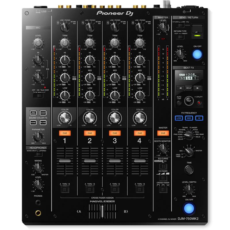 Pioneer DJ(パイオニア)DJM-750MK2 【豪華2大特典プレゼント!】
