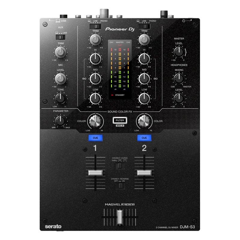Pioneer DJ DJM-S3 【高品質 EXFORM製 USBケーブル プレゼント!】