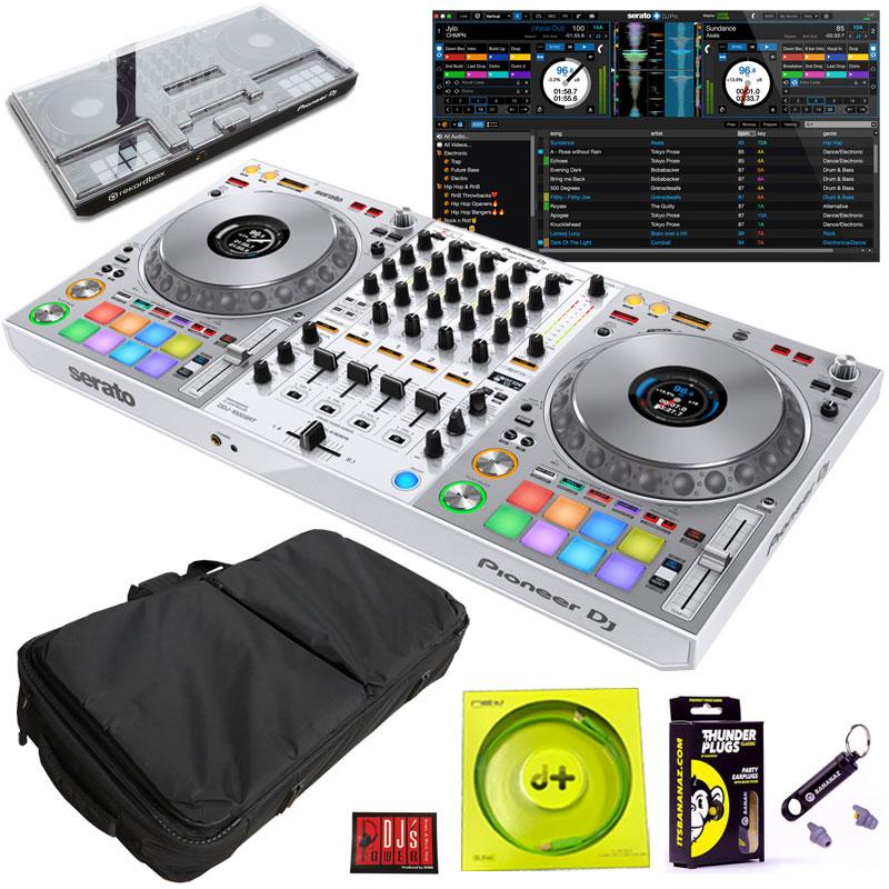 Pioneer DJ DDJ-1000SRT-W 専用保護カバー付属 DJセット【今なら豪華4大特典プレゼント!】 【さらに初回限定Serato DJ Suiteプレゼント!】