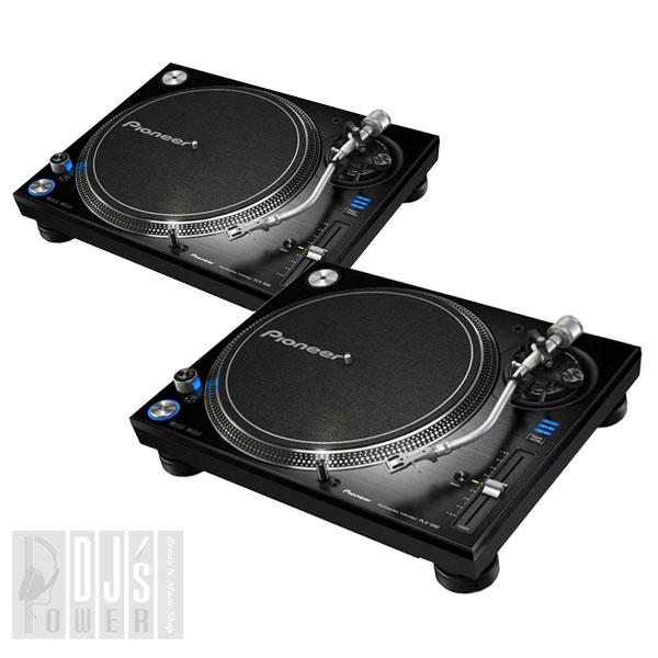 Pioneer DJ PLX-1000 TWIN SET 【カートリッジケースとスリップマットプレゼント!】