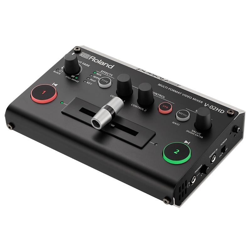 ROLAND V-02HD [Multi Format Video Mixer] 【p10】