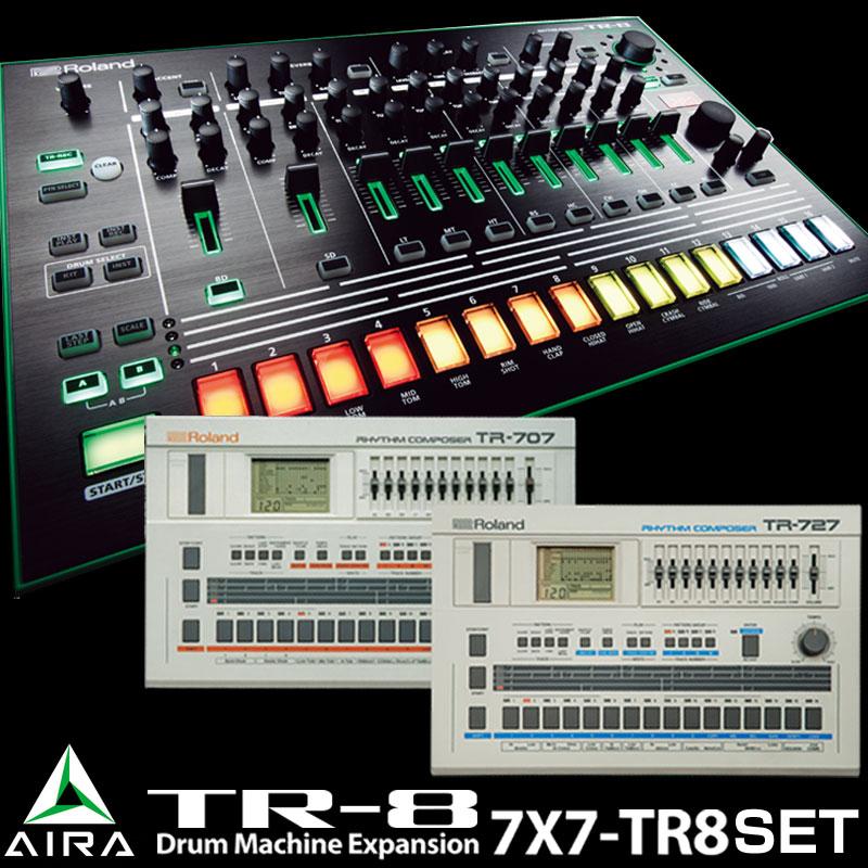 Roland AIRA series TR-8 + Drum Machine Expansion SET 【P5】